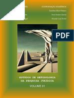 ESTUDOS DE METODOLOGIA DA PESQUISA JURÍDICA - VOLUME 01.pdf