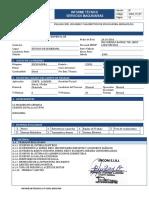 INFORME EXCAVADORA 329DL