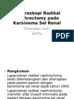 Laparoscopi Radikal Nephrectomy