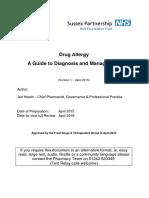 Drug Allergy Guideline