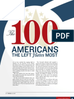 100 Americans the Left Hates Most - Townhall