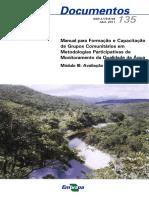 Manual para Formação e Capacitação de Grupos Comunitários