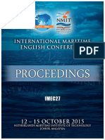 Imec 27 Proceedings