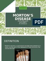mortons disease.pptx
