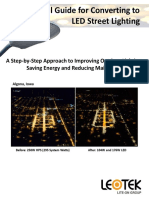 A Municipal Guide for Converting to LED Street Lighting