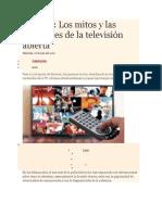 Análisis de La Tv Basura