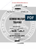 1942 US Army WWII German Military Training