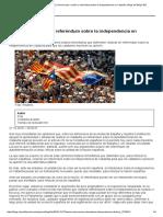 Independencia de Cataluña_ Democracia, Nación y Referéndum Sobre La Independencia en Cataluña