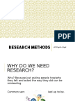 Unit II Research Methods