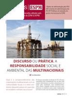 [ESPM] Discurso Ou Prática_ a Responsabilidade Social e Ambiental Das Multinacionais