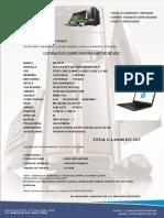 Cotizacion Notebook Hp-i3