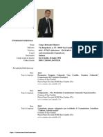 Curriculum Vitae Medico Carlo Rosario