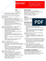 melanie metzman new resume pdf