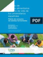 Estudio de Habitos Alimenticios - España
