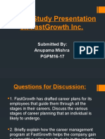 Assignment 2 Case Study FastGrowth Inc.