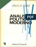 Dahl, Robert a. - Análisis Político Moderno