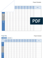 Copy of Project-schedule