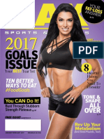 2017 JANUARY/ FEBRUARY ISSUE MAX SPORTS & FITNESS MAGAZINE