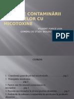 Efectelor Contaminării Alimentelor Cu Micotoxine