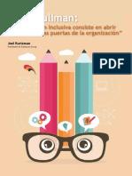 La Innovacion Inclusiva Consiste en Abrir Un Poco Mas Las Puertas de La Organizacion