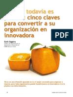 Todavia Es Posible Cinco Claves Para Convertir a Su Organizacion en Innovadora