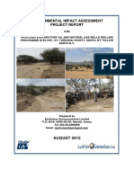 Final EIA Project Report for Exploratory Drilling in Block 13t