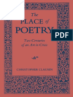 Christopher Clausen-The Place of Poetry_ Two Centuries of an Art in Crisis-University Press of Kentucky (2014)