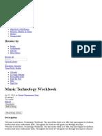 Music Technology Workbook _ Chord (Music) _ Music