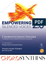 Empowering Silenced Voices 2.0 Concert Program