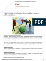 Entendiendo a Tu Estado_ Sistemas Funcionales y Administrativos _ Blog de ArturoDiazF