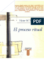 Turner - El Proceso Ritual Estructura y Antiestructura