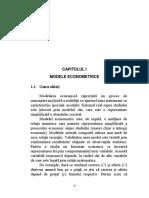 Econometrie - Capitolul I