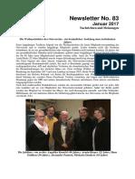 Januar 2017 (Newsletter Nr. 83)