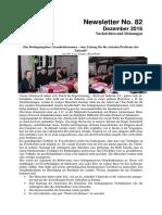 Dezember 2016 (Newsletter Nr. 82)