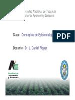 Conceptos de Epidemiología-FitopatologíaGrado