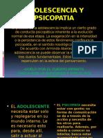 Adolescencia y Psicopatia