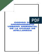 Codigo de Ordenamiento Urbano Ambiental Avellaneda