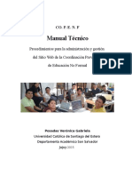 Manual Copenf Según Normas APA