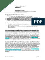 ENC1101Project3LitReviewPossibleOutline&Model