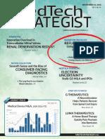 RefleXion featured in MedTech Strategist, November 2016 Issue