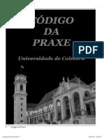 Codigo Da Praxe Universidade de Coimbra