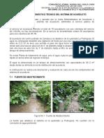 Cap.7 Descripción y Diagnóstico Técnico Del Sistema de Acueducto