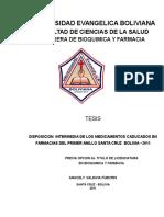 Universidad Evangelica Boliviana Aracely