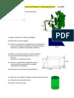 Ficha de Reforço_th. Pitagoras e Solidos Geométricos