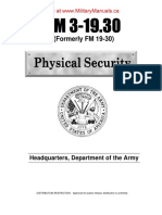 Army Physical Security