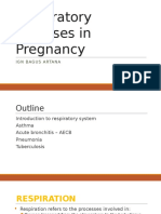 Respiratory Tract Diseases in Pregnancy