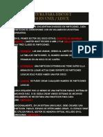 Nomenclatura Para Discos y Particiones en Unix