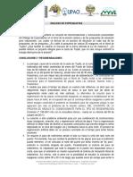 Conclusiones Dialogo Especialistas