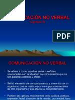 Comunicación No Verbal Cap. v 2016