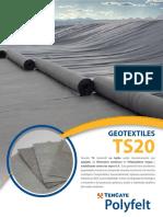 geotextil ts20